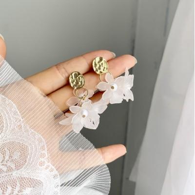 Kolczyki wiszące perełki...
