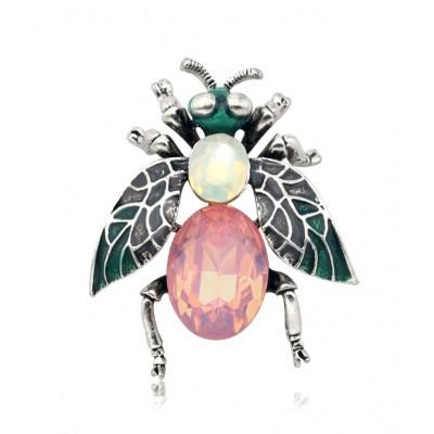 Broszka ozdobna owad pastel...