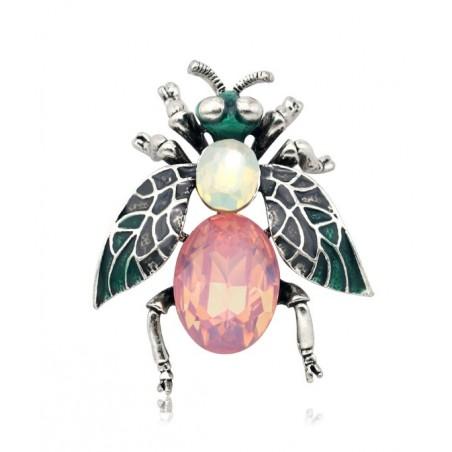 Broszka ozdobna owad pastel BZ54