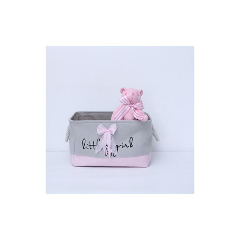 Spielzeugbehälter, Speicherorganisator Mädchen grau OR31WZ4