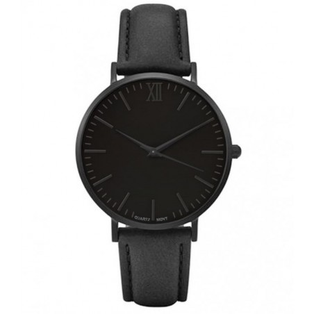ZEGAREK DAMSKI NA PASKU SIMPLE BLACK Z417