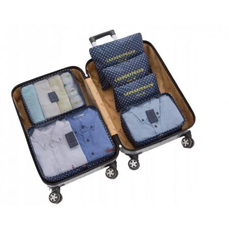 Organizer for suitcases, set of 6 sachets KS21WZ5