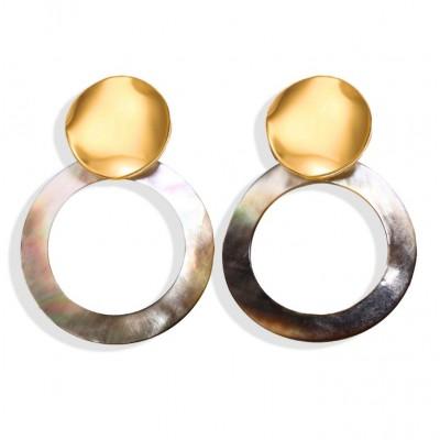 Kolczyki wiszące pearls K1222