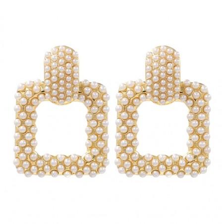Kolczyki wiszące pearls K1226