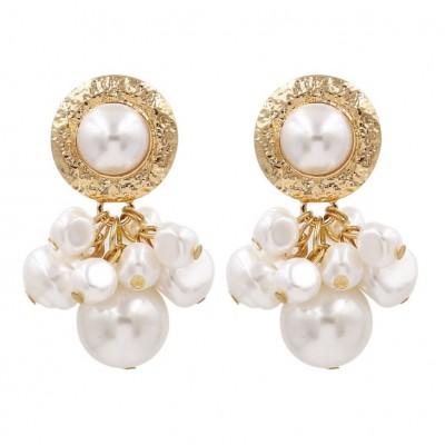 Kolczyki wiszące pearls...