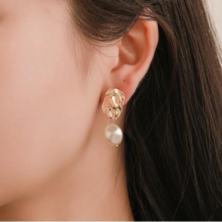 Kolczyki wiszące pearls K1283
