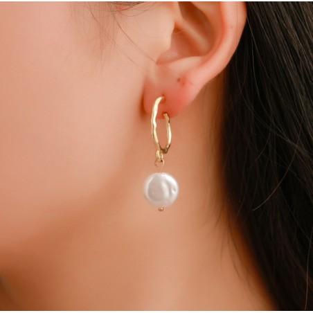 Kolczyki wiszące pearls K1254
