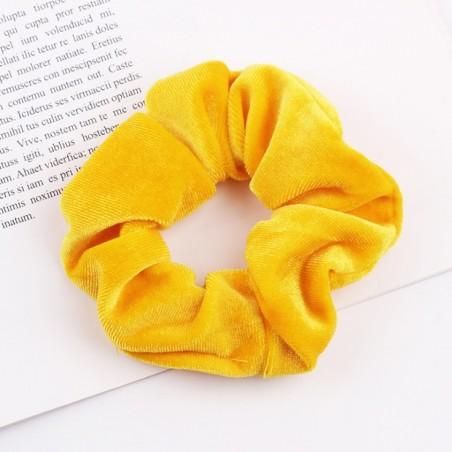 Gumka do włosów frotka żółta GUM2ZO