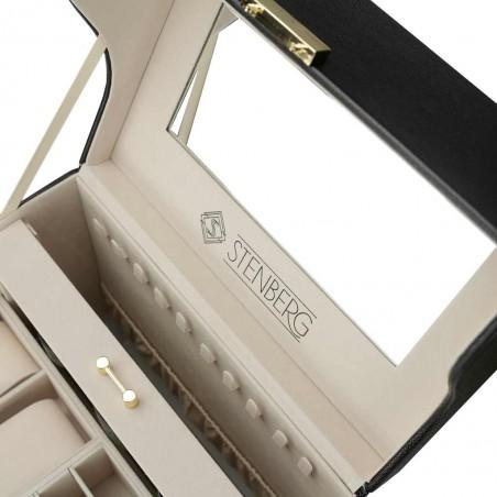 Szkatułka na biżuterię STENBERG kuferek, organizer PD96CZ