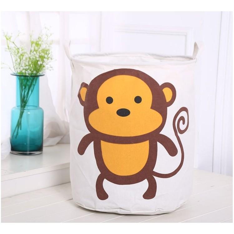 Organizer, pojemnik na zabawki, worek, kosz na pranie małpka OR2WZ43
