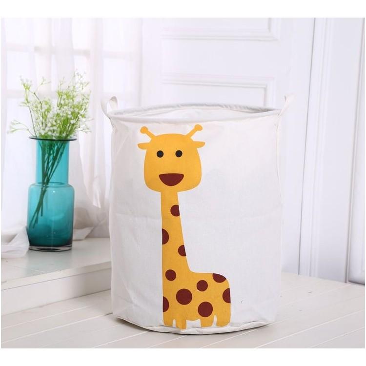 Organizer, pojemnik na zabawki, kosz, worek na pranie żyrafa OR2WZ42