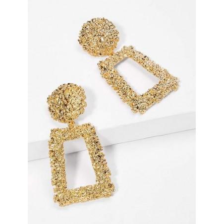 Kolczyki wiszące złote K1032Z