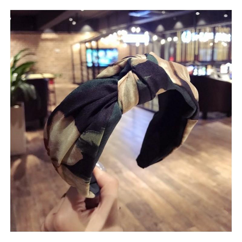 Opaska turban z materiału O216ZIE