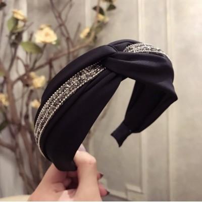 Opaska turban z materiału z...