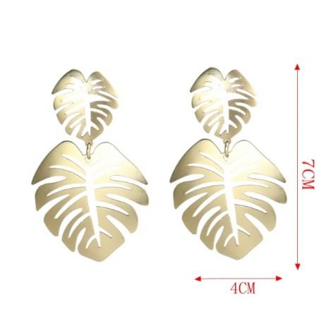 Kolczyki wiszące złote K1169