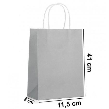 Torba papierowa duża szara GF02