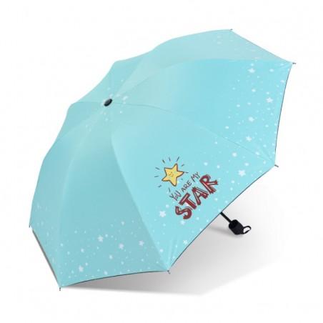 Parasol umbrella Star turkus PAR06M