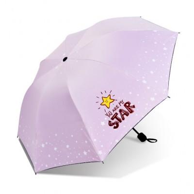 Parasol umbrella Star róż...