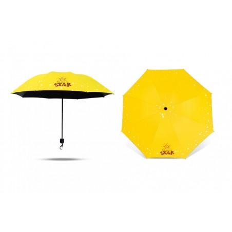 Parasol umbrella Star żółty PAR06ZO