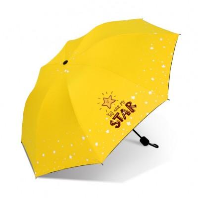 Parasol umbrella Star żółty...
