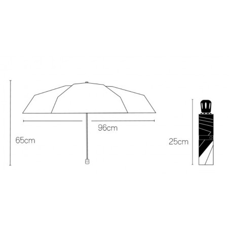 Parasol umbrella miś PAR07CZ