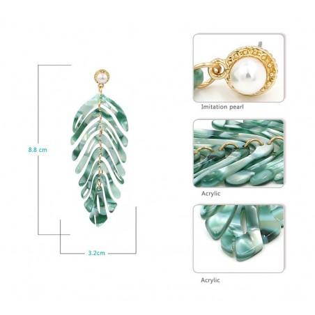 Kolczyki wiszące złote K1260ZIE