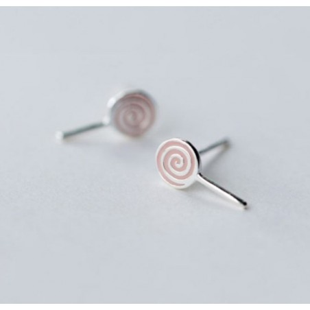 Silver earrings 925 KST1416