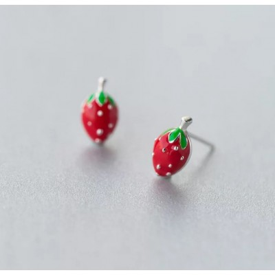 Silver earrings 925 KST1419