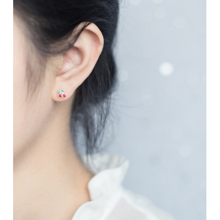 Silver earrings 925 KST1420