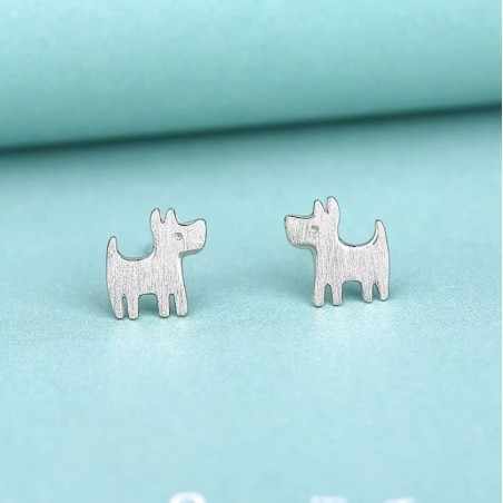 Silver earrings 925 KST1429