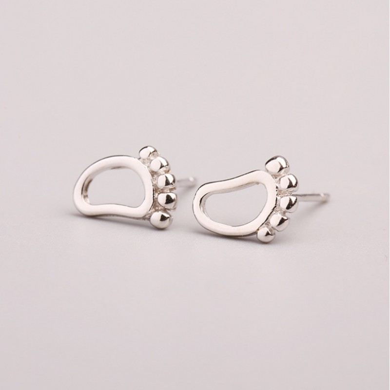 Silver earrings 925 KST1436