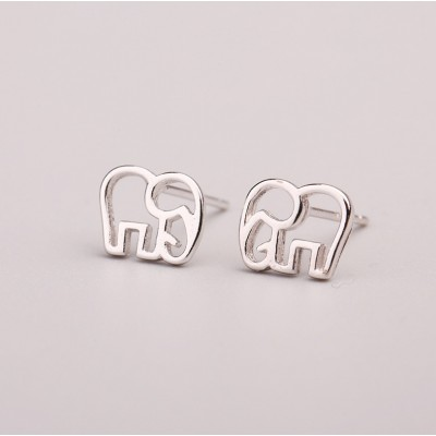 Silver earrings 925 KST1437