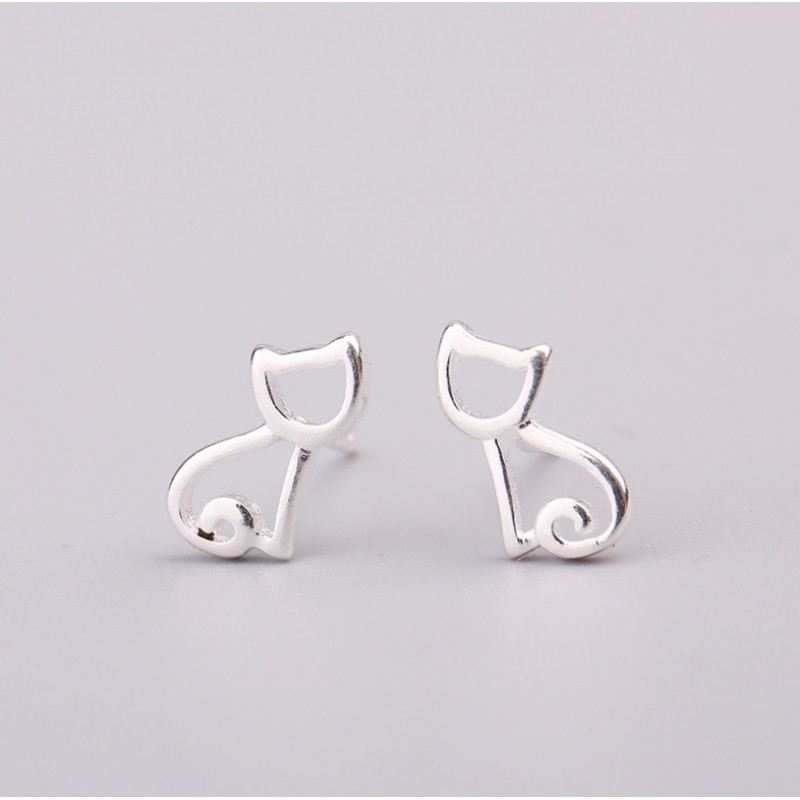 Silver earrings 925 KST1438
