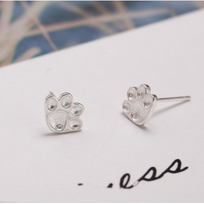 Silver earrings 925 KST1440