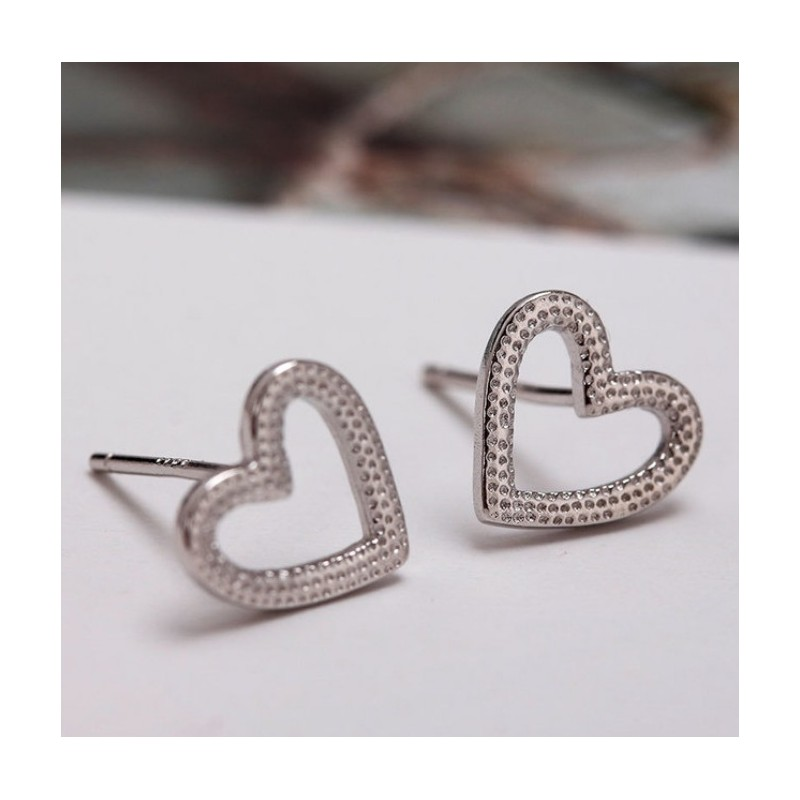 Silver earrings 925 KST1441
