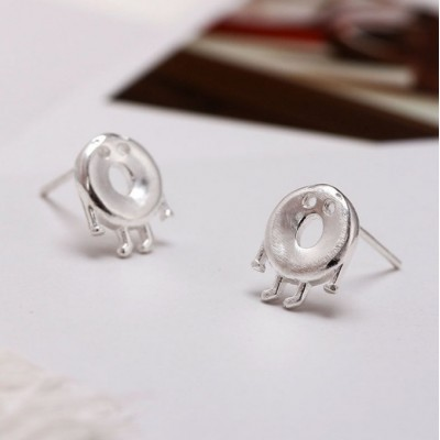 Silver earrings 925 KST1442