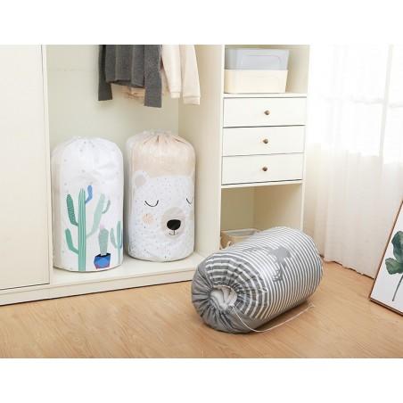 Pojemnik na zabawki lub pranie, kosz, worek kaktus OR20KAK