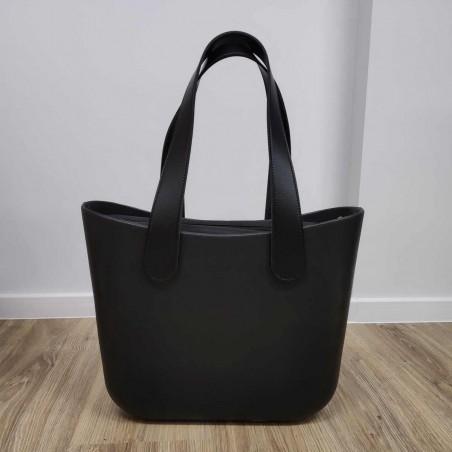 Torba Gumowa Miejska Jelly Bag Czarna T3CZ