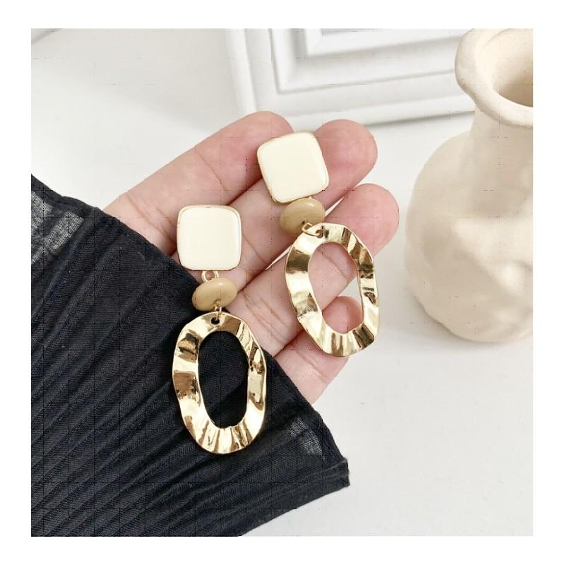 Kolczyki złote wiszące K1270