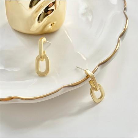 Kolczyki złote przy uchu K1277