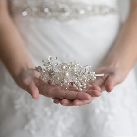 OPASKA DO WŁOSÓW Ślubna O249