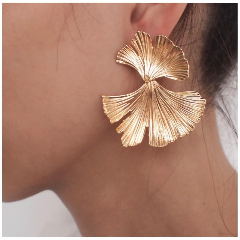 Kolczyki złote przy uchu K1287Z