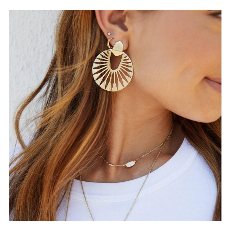 Kolczyki złote przy uchu K1288Z
