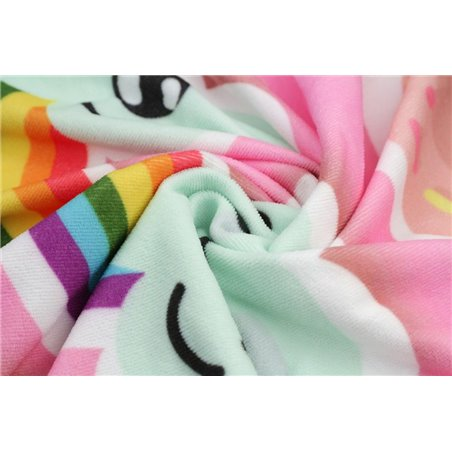 Ręcznik plażowy prostokątny 170x90 Flaming REC46WZ2
