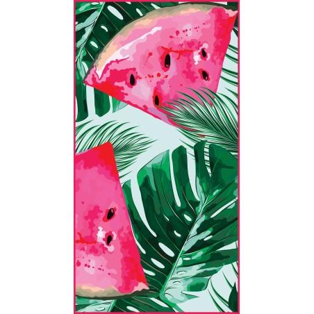 Beach towel rectangular 150x70 Watermelon REC45WZ1