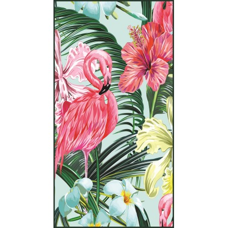Rectangular beach towel 150x70 Flaming REC45WZ2