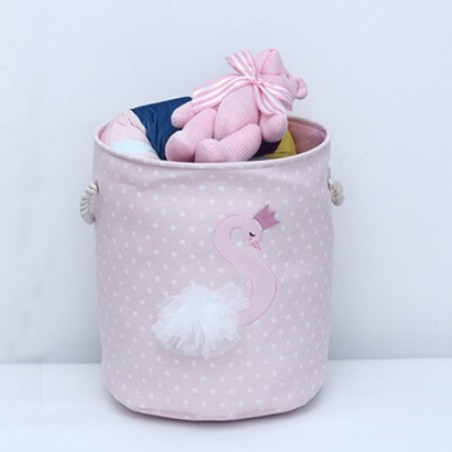 Pojemnik na zabawki, kosz, worek na pranie łabędź OR29WZ4