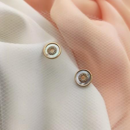 Kolczyki ze stali chirurgicznej KST1622