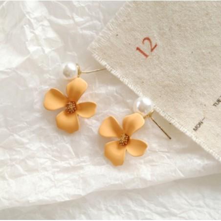 Kolczyki złote przy uchu K1290ZO