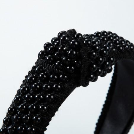 Opaska do włosów perełki turbanka O318CZ